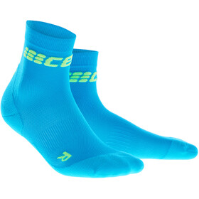 cep Dynamic+ Ultralight Korte Swimrun Sokken Heren, electric blue/green